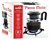percolator glass top - Stovetop 8 Cup Glass Percolator Coffee Maker 8 Cup Gas Electric Ceramic Stoves & Hotplates Safe