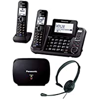 Panasonic KX-TG9542B - Headset & Range Extender Bundle