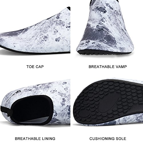 Men and Beach Shoes Shoes Yoga Style30 Quick Shoes Barefoot Dry Shoes Women Water for Water QLEYO surf Skin Swim for 75B0fqwYn
