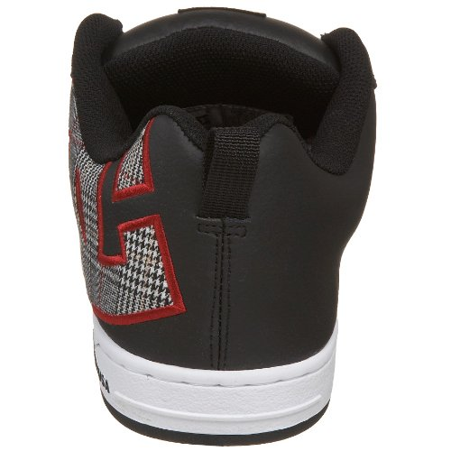 SE White Black Red Sneaker DC Men's Court Graffik 1wqxpwOtF