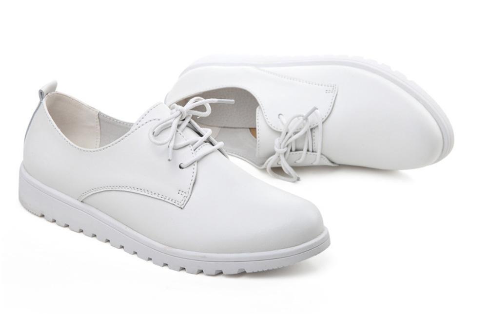 Frau im Frühjahr und Herbst Schuhe flache Schuhe Herbst mit flachen Schuhen Freizeitschuhe Student Schuhe erhöht - 419072