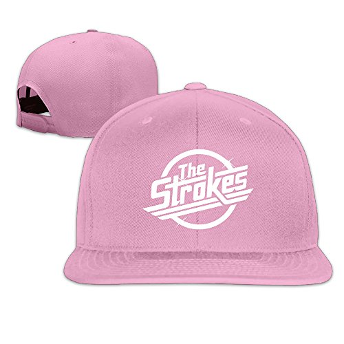 The Strokes Cotton Baseball Caps Fitted Plain Hat ()