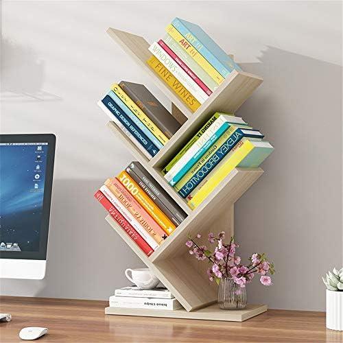 デスク上置き棚 デスクトップウッド小さな本棚自立アジャスタブルミニ本棚家庭やオフィスの収納デスクTidyの棚文学オーガナイザー 学生本立て 多様放置事務用品収納 (Color : B, Size : 30X17X53CM)