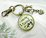 Dog Keychain Life Is Sweeter BFF Friendship Pet Jewelry For Women Rustic Bronze Paw Bone Charms Key Chain