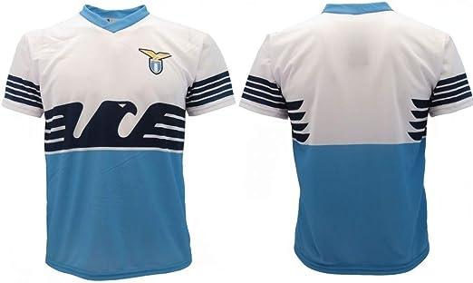 Camiseta Lazio Neutra 2019 oficial, temporada 2018 2019, réplica autorizada, sin nombre, sin número SS Aquila Home: Amazon.es: Ropa y accesorios