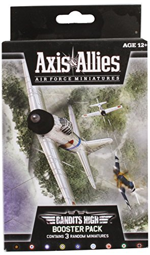 Axis & Allies Air Miniatures Bandits High Booster Board Game (Allies Miniatures And Axis)
