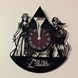 The Legend of Zelda - Wall Clock - Get unique home room wall decor - Gift ideas for adults, teens – Addicted Movie Unique Art Design