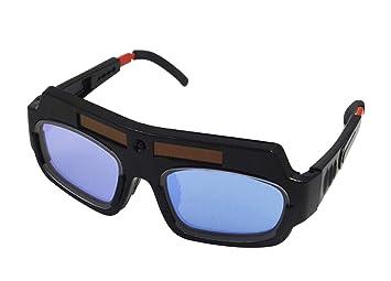 STEAM PANDA Gafas De Soldador De La Soldadura De La Soldadura Gafas Antirreflejo De La Soldadura Eléctrica De La Soldadura Eléctrica del Cambio De La Luz ...