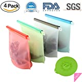SUQI Silicone food storage bag is not just a bag or container, which can provide you a high quality life style!  Product Feature This is one of your best reusable silicone food bag with a number of features to keep you and your family safe while enjo...