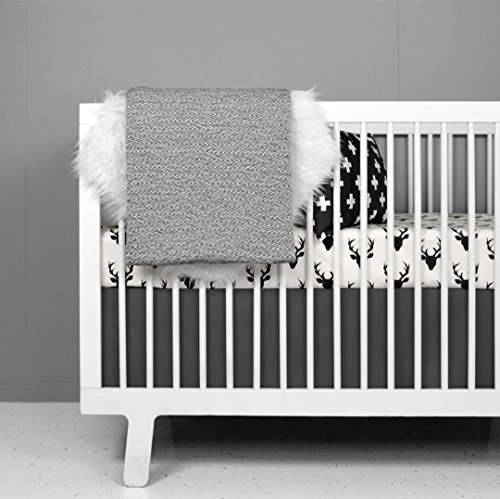 Crib Bedding Set - Woodland Deer Design by OLLI+LIME