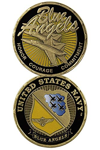 United States Navy Blue Angels Challenge Coin (Eagle Crest 2363)
