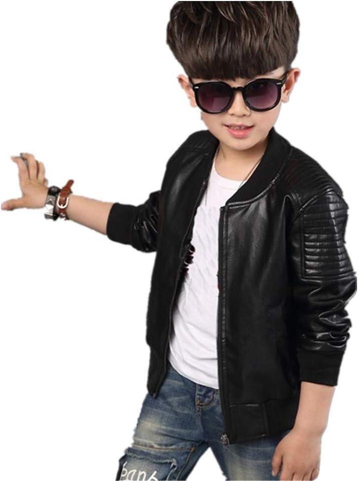 SHIJIAN chamarra de felpa para niños, chaqueta de moto, chaqueta ...