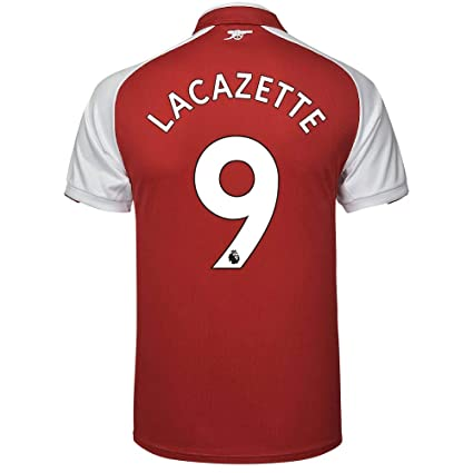 f0902ddcb PUMA Arsenal Home Lacazette Jersey 2017 2018 (Authentic EPL Printing) - XL