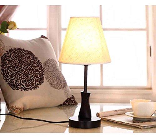 TRAVEPPY Solid Wood Decorative Lamps Bedroom Table Lamp Model Deak Lamp (Octagonal Lamp Table)