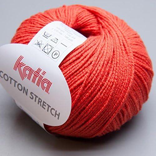 Katia algodón stretch 025/50 g lana: Amazon.es: Jardín