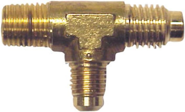 Robinair (15195) Combination Inlet Tee Fitting for R-12 and R-134A