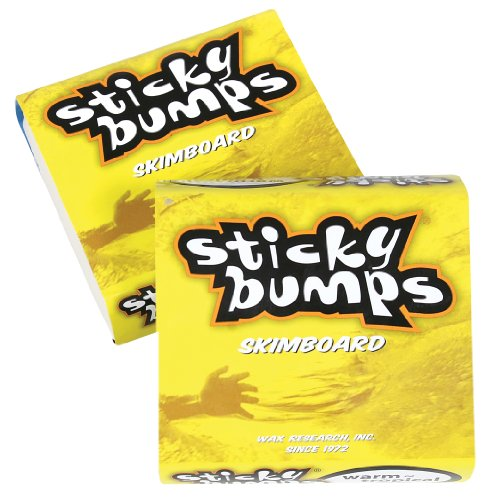 Sticky Bumps Original Skimboard Wax (Warm/Tropical, 3 Pack)