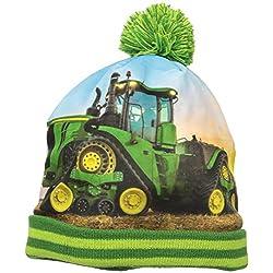 John Deere Little Boys' Winter Hat, Green, TODDLER