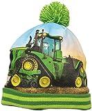 John Deere Boys' Little Winter Hat, Green, Toddler