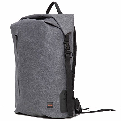 Knomo Luggage Cromwell Backpack, Grey, One Size