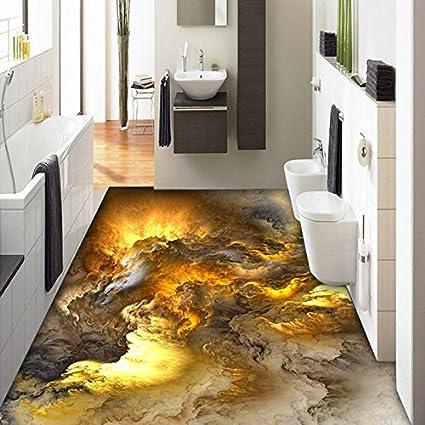 Chlwx 300cmX200cm (118.1inX78.74in) 3D Wallpaper Di Pavimentazione ...