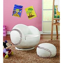 Coaster Home Furnishings 460177 Casual Chair, White