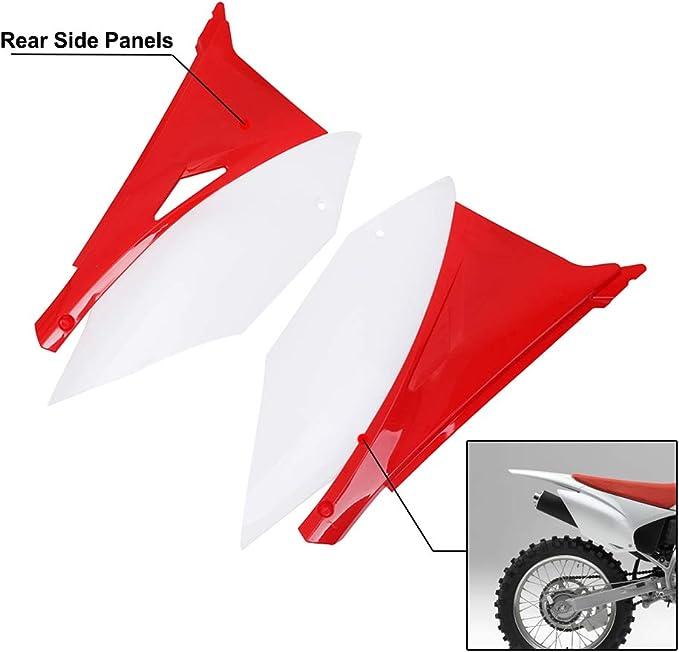 Red Motorcycle Rear Fender ABS Plastic Frame For Honda CRF230F 2020 Dirt Bike