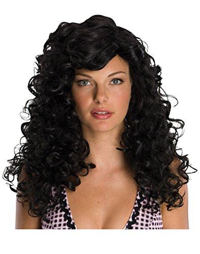 Rockabilly Wig in Black - Adult