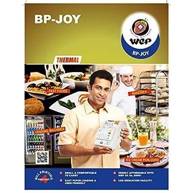 Wep India BP JOY Billing Printer, 2-inch, 700 Item Capacity (White) 9