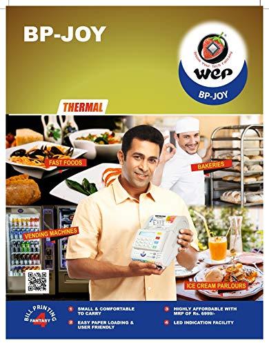 Wep India BP JOY Billing Printer, 2-inch, 700 Item Capacity (White) 4
