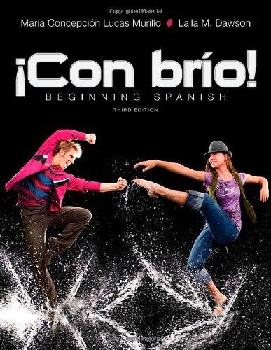 !Con brio!: Beginning Spanish (Spanish Edition) [MarAa C. Lucas Murillo - Laila M. Dawson] (Tapa Dura)