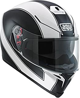 AGV K-5 S Enlace Adult Helmet - White/Black / Medium/Large