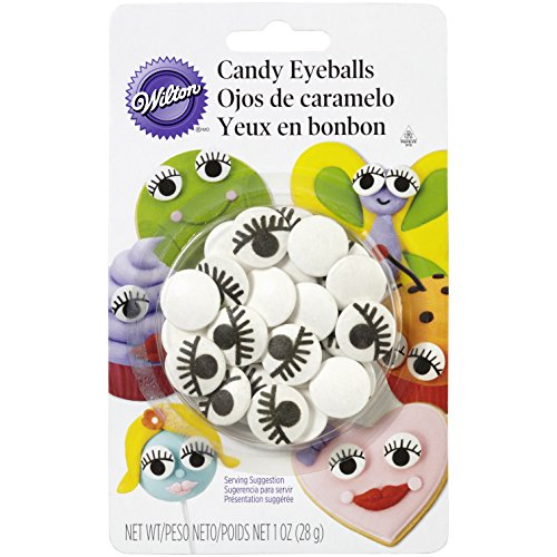 Wilton 710-2223 Icing Candy Decorating Eyeballs with Eyelash]()