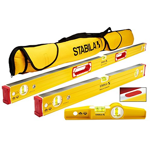 Stabila 96M Magnetic Level Set Kit - 48
