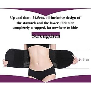 DGXINJUN Women's Adjustable Waist Trimmer Belt Body Shaper Back Brace Postpartum Recovery Invisible Support