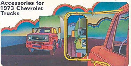 - 1973 Chevrolet Truck Accessories Brochure Pickup Blazer