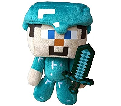 "Telhas/Gifts Steve Minecraft Plush Toy Figure 7"""