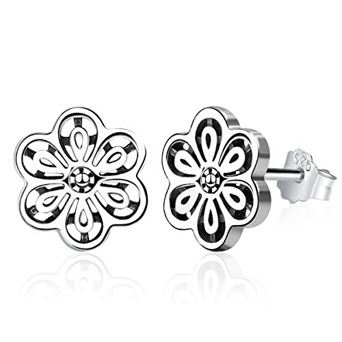 Twenty Plus Floral Daisy Lace Stud Earrings Gifts For Women & - Daisy Floral Earrings