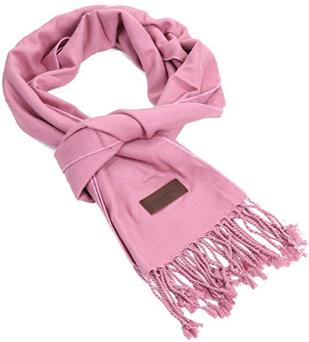Marino's Winter Cashmere Feel Unisex Men And Women Scarf, 100% Cotton Fashion Scarves, In Elegant Gift Box