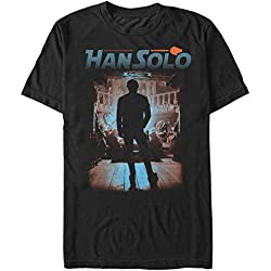 Fifth Sun Solo: A Star Wars Story Men's Gambling Den Black T-Shirt