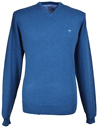Fynch Hatton Herren Pullover Blau Blau Gr. xxxl, Blau - Fuel 662