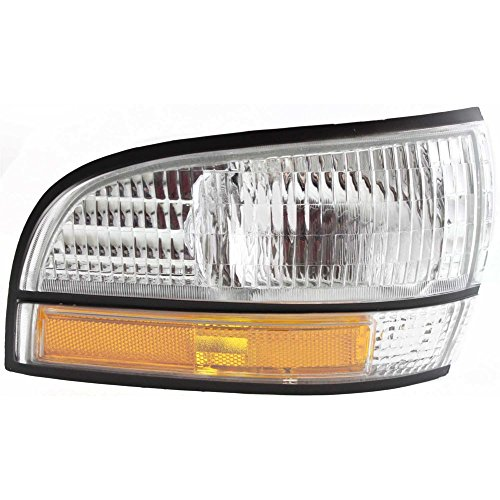 - Front Side Marker Lamp compatible with Park Avenue 91-96 Right Lens and Housing W/Cornering Lamp Equipped