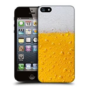 Case Fun Beer Glass Snap-on Hard Back Case Cover for Apple iPhone 5 / 5S