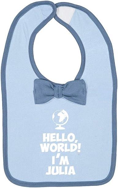 Mashed Clothing Hello Im Julia World Personalized Name Baby Romper