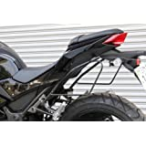 プロト(PLOT) サドルバッグサポート スチール ブラック(塗装仕上げ) Ninja250、Z250(13-16) PSD748