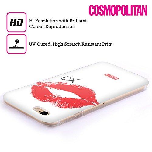 Official Cosmopolitan XO Kiss Mark Soft Gel Case for Apple iPhone 5 / 5s / SE