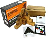 Monkey Pod Games Spatial Challenge - One of the Best Soma Cube Sets Ever Made