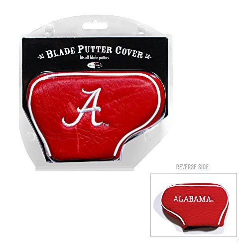 Team Golf NCAA Alabama Crimson Tide Golf Club Blade Putter Headcover, Fits Most Blade Putters, Scotty Cameron, Taylormade, Odyssey, Titleist, Ping, Callaway ()