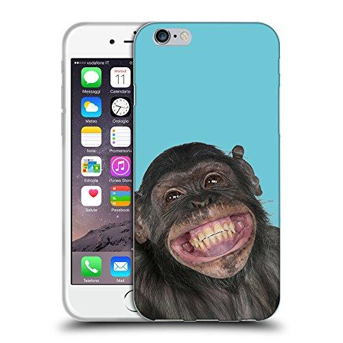 GoGoMobile Coque de Protection TPU Silicone Case pour // Q05620627 grand sourire Ciano // Apple iPhone 7