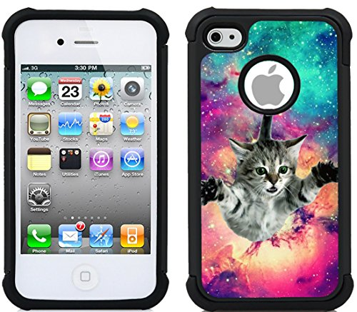 CorpCase iPhone 4 Case / iPhone 4S Case - Cat Iphone 4 Case